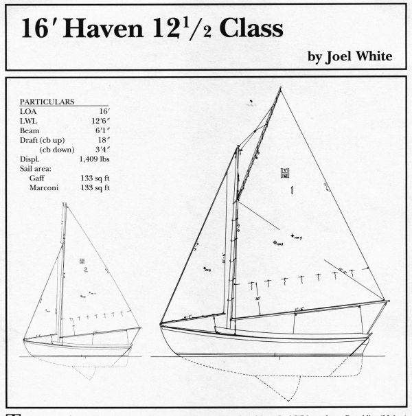 16 foot Haven 12.5 Class