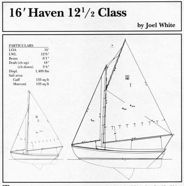 16 foot Haven 12.5 Class